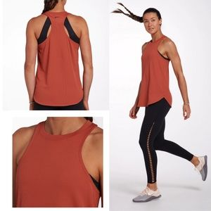 NIKE Women's Training Tank Dusty Peach Dri Fit Top